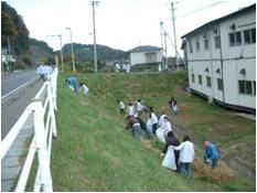 本社工場 『クリーンウォーク2007』地域清掃活動